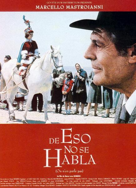 Afiche de la película De eso no se habla