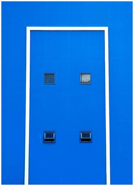 Foto abstracta de fachada de edificio