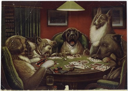 A_Waterloo_Dogs_Playing_Poker