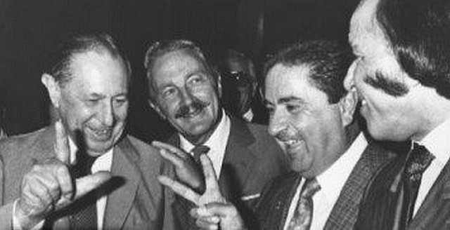 Alsogaray, Estevez Boero, Duhalde y Menem