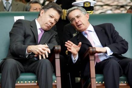 Alvaro Uribe, Juan Manuel Santos