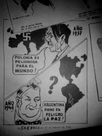 Diario La Epoca, 21 de febrero de 1946