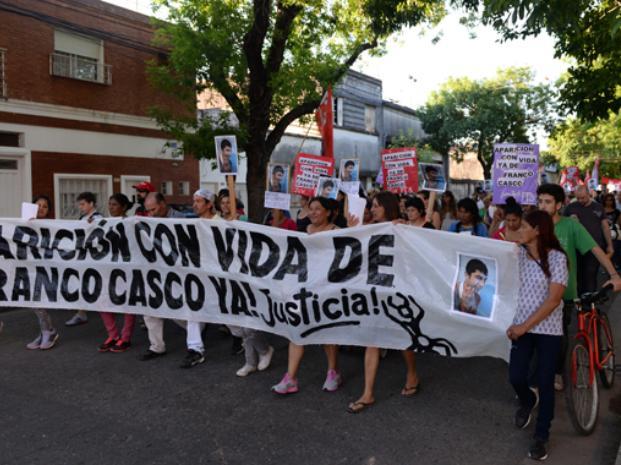 Manifestación por Franco Casco