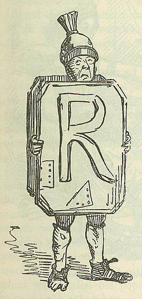 285px-Comic_History_of_Rome_p_097_Initial_R_Roman_Soldier