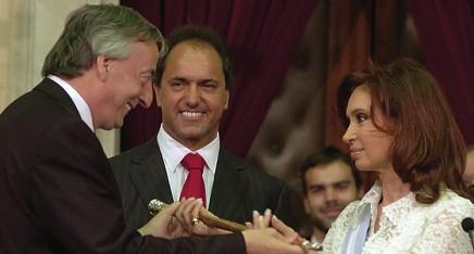 Daniel-Scioli-Nestor-Kirchner-Cristina-Fernandez