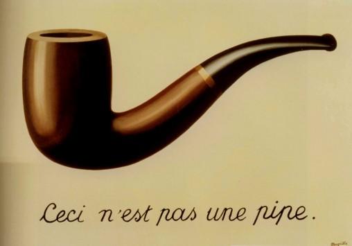 René Magritte - La trahison des images (1929) LA County Museum of Art